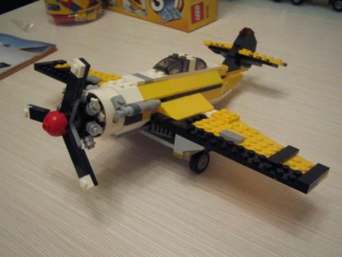 乐高三合一跑车飞机