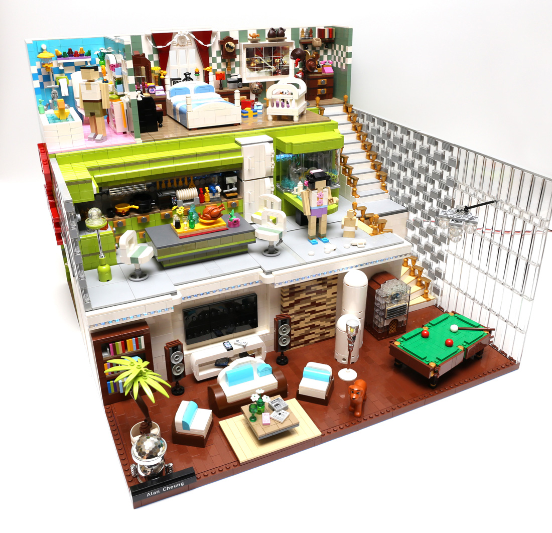 Moc Dream House Special Lego Themes Eurobricks Forums